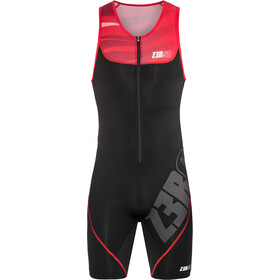 Z3R0D Start Triathlon-puku Miehet, armada black/red